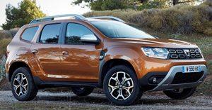 Il nuovo SUV Dacia Duster 5 porte a benzina